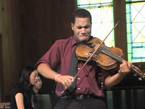 Michael Casimir, William Walton - Viola Concerto, Center Stage Strings Music Festival 2011