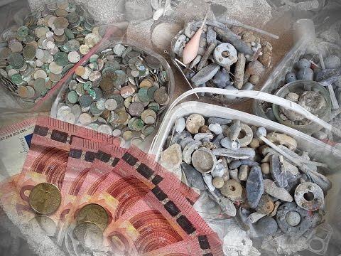 За сколько в Испании можно продать ненужные находки с пляжа и пляжный мусор!