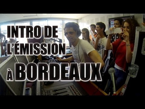 Intro de l'émission Guillaume Radio 2.0 sur NRJ à Bordeaux