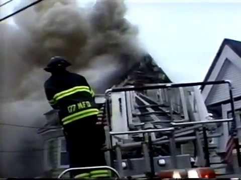 Montclair NJ Fire Dept 2nd Alarm Fire 75 Elm St  March 2nd 2004