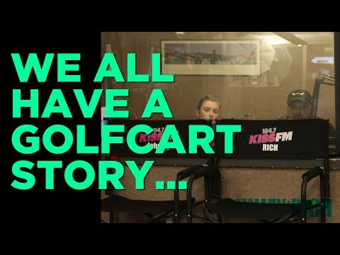In-Studio Videos - We All Have A Golfcart Story...
