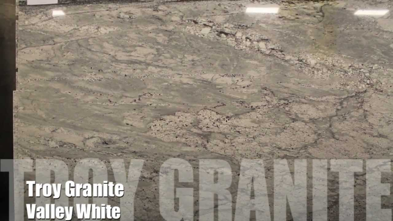 Valley White Granite Countertop By Troy Granite Youtube