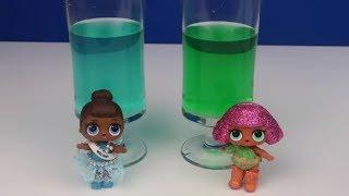 L.O.L. Charm Fizz Patlayan Suyu ile Slime Test. Fail Slime Challenge. Pofuduk Slime. Bidünya Oyuncak