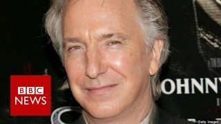 Actor Alan Rickman 'dies aged 69' - BBC News