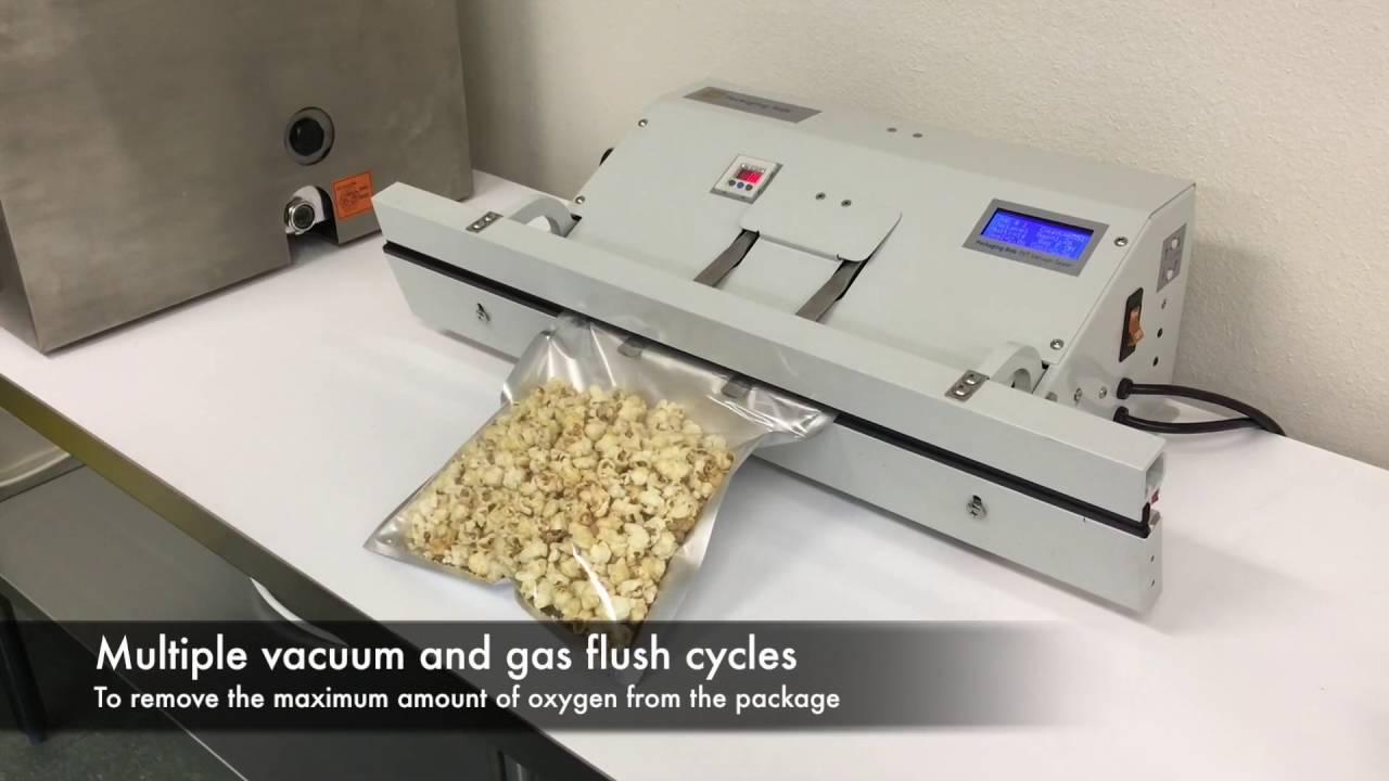 Vacuum Packaging Of Cannabis And Marijuana Vacuum Sealer