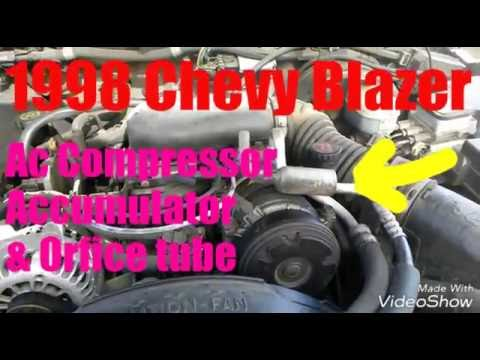 Ac Auto Parts >> 1998 Chevy Blazer AC Compressor Replacement - YouTube