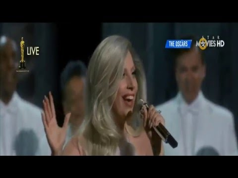 Lady Gaga Oscars 2015 Full HD 1080p