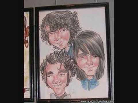 Jonas Brothers Characture