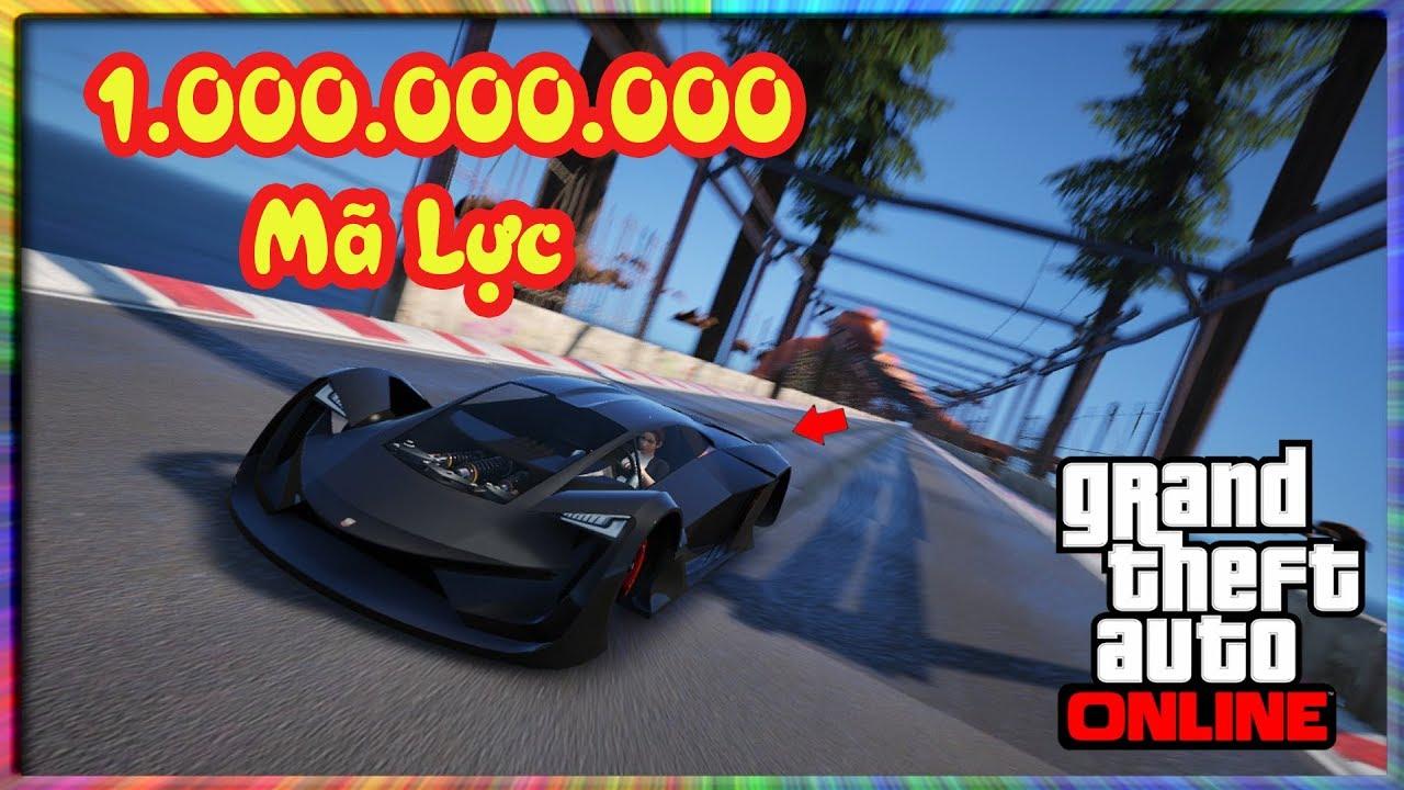 GTA 5 MOD|1.000.000.000 Mã Lực Cho Tất Tần Tật Siêu Xe Và Cái Kết Bay Ra Ngoài Vũ Trụ|Khôi Michael