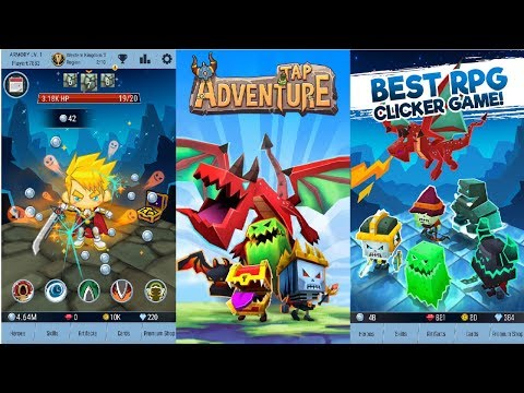 Tap Adventure Hero: Idle RPG Clicker, Fun Fantasy Android Gameplay