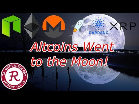 Altcoin NEWS : ADA, NEO, DASH, ETH, XRP and More Up 15%+! Crypto Technical Analysis