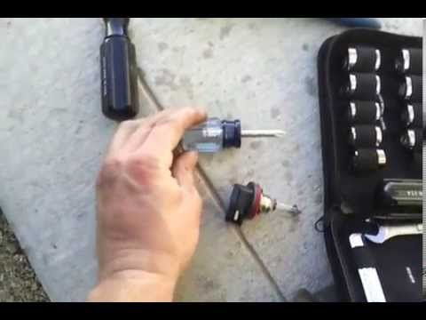 2008 ford fusion headlight installation (easiest) - YouTube
