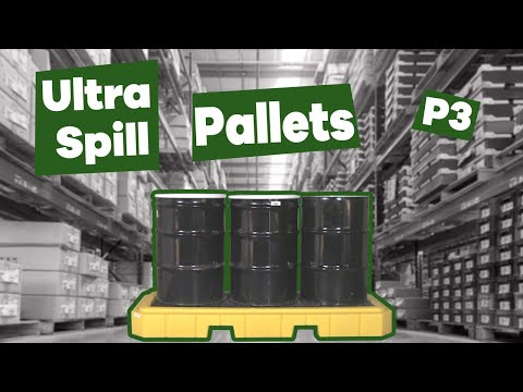 Ultra- Spill Pallet P3 Plus