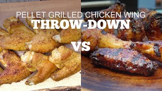 Chicken Wing Throw-Down on a Green Mountain Grill