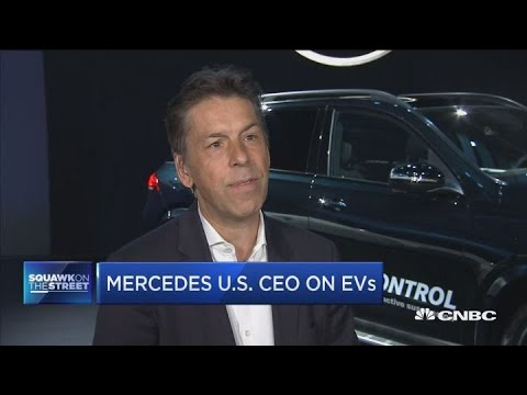 Trend toward electric vehicles is on the rise, says Mercedes US CEO