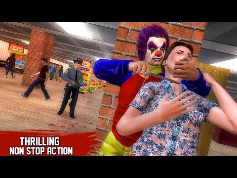City Supermarket Clown Robbery (by Piranha Studios) Android Gameplay [HD]
