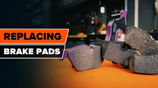 Change the Brake Pads yourself – free instructional video