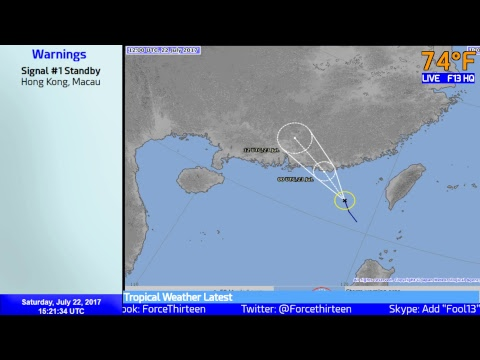 Tropical Weather Latest - Force Thirteen Live (July 22, 2017)