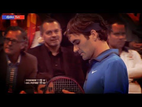 59 - Federer vs Del Potro - F Basel 2012