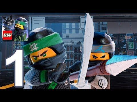 THE LEGO NINJAGO MOVIE - Gameplay Walkthrough Part 1 - Ninjago City (iOS, Android)
