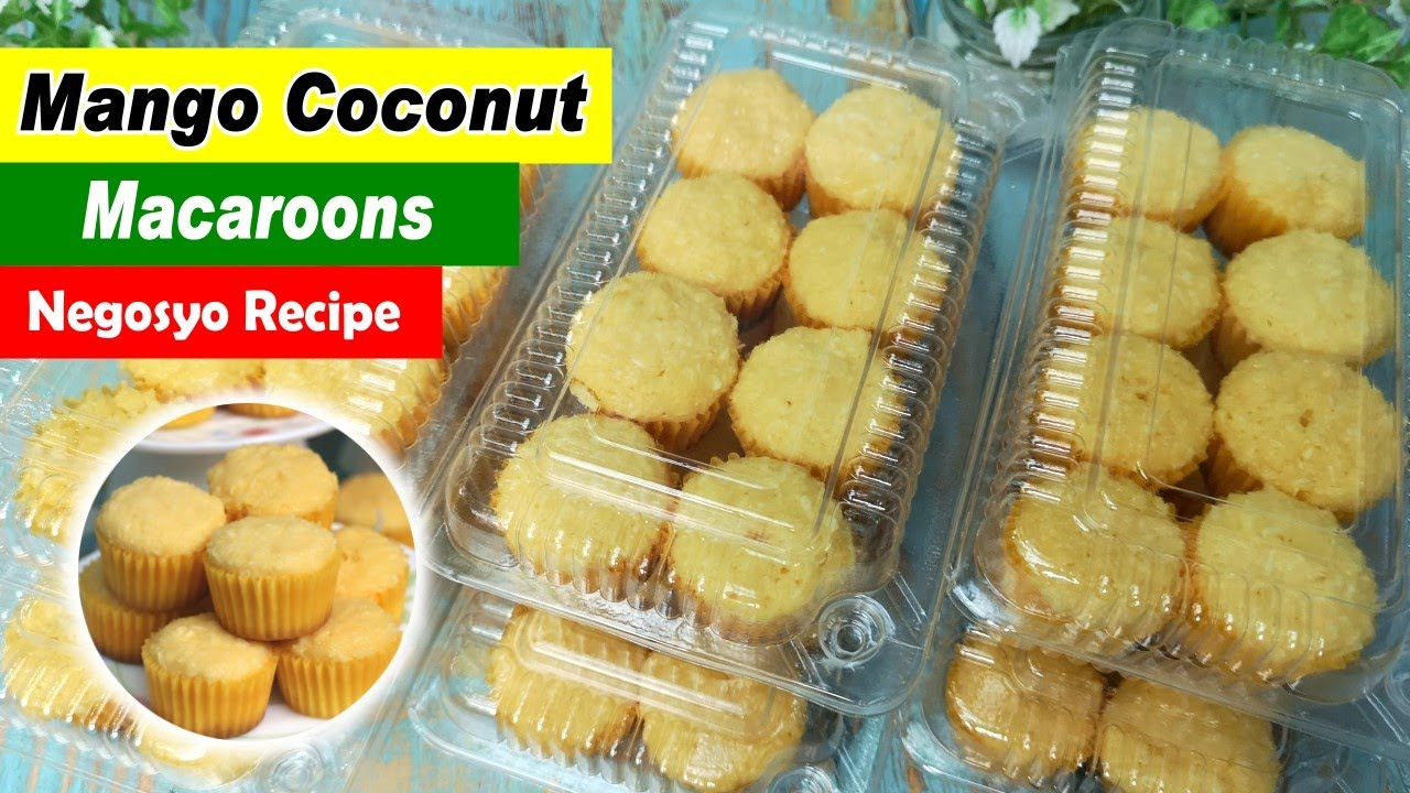 Mango Coconut Macaroons Recipe No Oven Negosyo Recipe Youtube