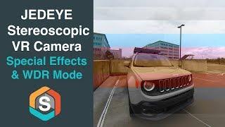 JEDEYE Stereoscopic VR Camera -  Picture Modes