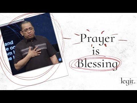 Legit - Prayer is Blessing - Bong Saquing
