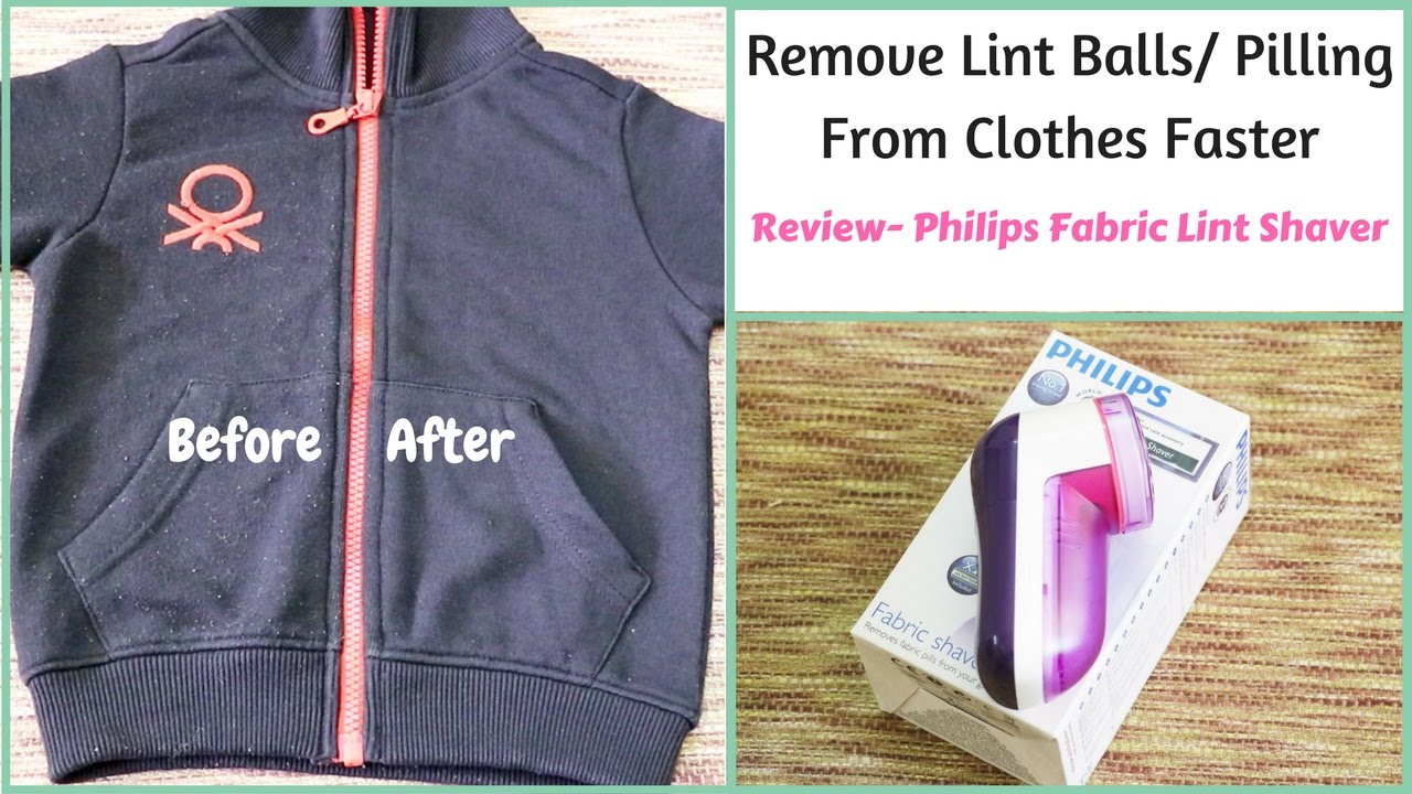 best way to remove lint from clothes philips fabric shaver youtube. Black Bedroom Furniture Sets. Home Design Ideas