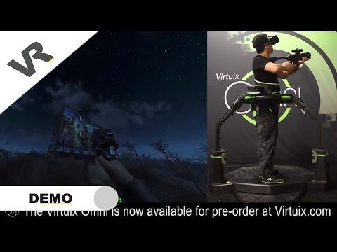 Virtuix Omni - Fallout 4 Walking across the Wasteland