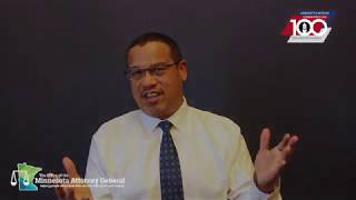 Congratulatory Centennial Message #3:  Keith Ellison - Attorney General (MN)