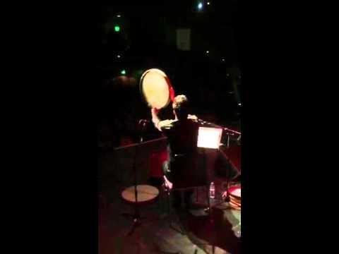 Mohamad Jaberi Daf Solo Sami Yusuf Concert تکنوازی دف محمد جابری در کنسرت سامی یوسف