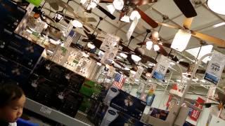 Ceiling fan @Lowes