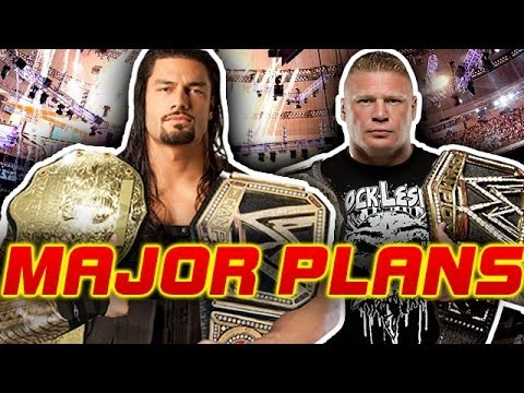ROMAN REIGNS Vs BROCK LESNAR At WRESTLEMANIA 31 For WWE ...
