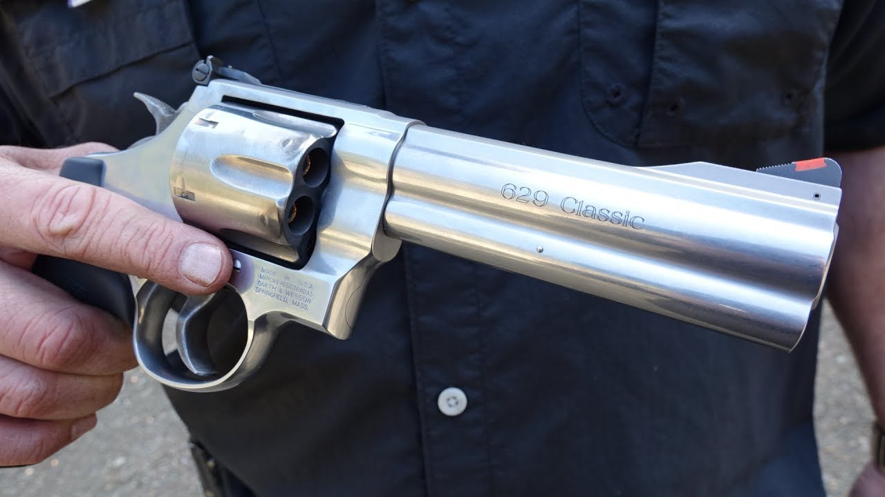 smith wesson 629 5 44 magnum revolver review youtube