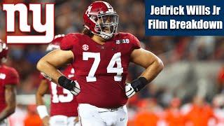 Jedrick Wills Jr Film Study (Potential Giants Draft Pick)