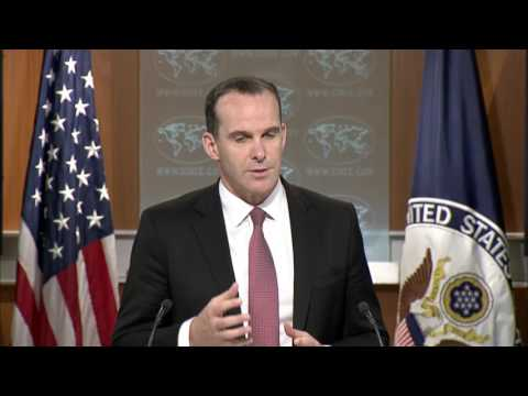 BATTLE For IRAQ/SYRIA: 8-4-17. Global Coalition to Defeat ISIS  Press Update with Brett McGurk.