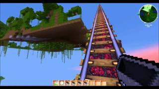 Minecraft Achterbahn Extrem