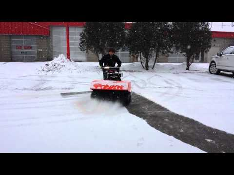 "Ariens Hydro Power Brush 36"" Demo"