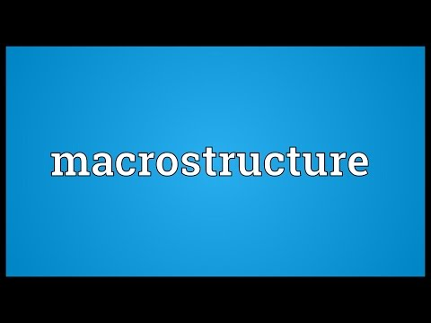 Header of macrostructure