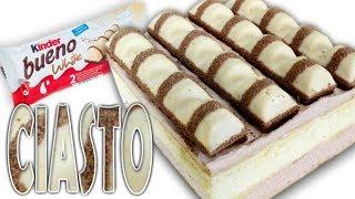 Ciasto Kinder Bueno Biale Przepisy Jak Zrobic Smaker Pl