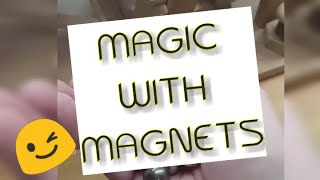 MAGIC WITH MAGNETS | TOP 10 | NEW MAGNET TRICKS