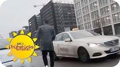 KREDITKARTENABZOCKE: TAXI-GEBÜHR in Berlin TROTZ neuer VERORDNUNG!   SAT.1 Frühstücksfernsehen   TV