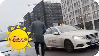 KREDITKARTENABZOCKE: TAXI-GEBÜHR in Berlin TROTZ neuer VERORDNUNG! | SAT.1 Frühstücksfernsehen | TV
