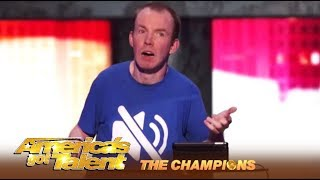 Lost Voice Guy: Comedian BGT Winner Competes For The World Title | AGT Champions