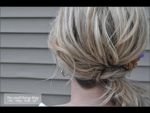 the-knot-ponytail
