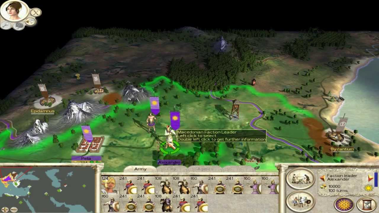 rome total war alexander campaign ep 1 the might of