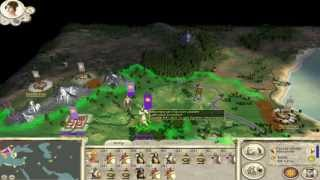 Rome Total War: Alexander Campaign Ep 1 The Might of Alexander The Young