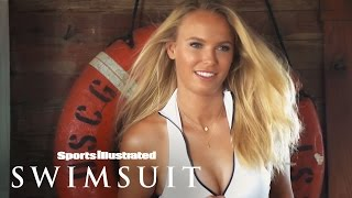 On Set With Ronda Rousey & Caroline Wozniacki | Sports Illustrated Swimsuit 2015