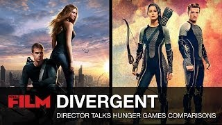 Neil Burger Talks Divergent / The Hunger Games Comparisons
