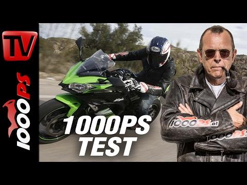 1000PS Test - Kawasaki Ninja 650 | Würdige Ninja?